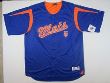 New York Mets Jersey Baseball  MLB Size XL Polyester Blue True Fan Nwt Mens