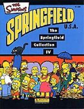 10 Sticker Simpsons IV Springfield zum Aussuchen von Panini