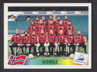 Panini - France 98 World Cup - # 67 Norge Team Group