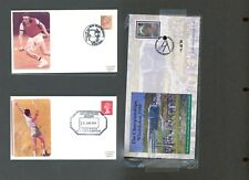 SPORTS GREAT BRITAIN Album Page Lot #61 - TENNIS - SEE SCAN - $$$