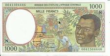 Central African States; Equatorial Guinea 1000 Francs 2000 P 502 . 3Rw 29 Set