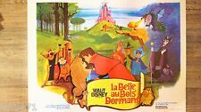 LA BELLE AU BOIS DORMANT  !  walt disney affiche cinema