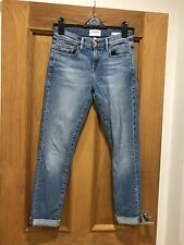 Gorgeous Women's Frame Blue Denim Le Boy Skinny Jeans Size 25 Good Condition