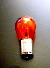 2x Glühbirne 12V 21W BA15S orange Birne Oldtimer KFZ Lampe Moped Motorrad MZ
