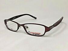 "CONVERSE KIDS ""SPUNKY"" Eyeglasses Frame 45-15-120 Burgundy Red HC90"