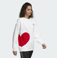 New Adidas Originals Women Hoodie Valentine Day Sweatshirt Sweater Jumper CE1689