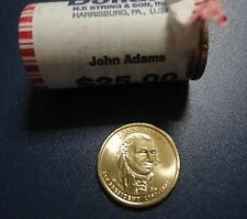 USA 1 Presidential Dollar coin 2007 JOHN ADAMS BU from Original Roll