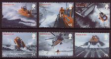 Gran Bretaña 2008 Set de 6 de rescate en el mar Fine Used