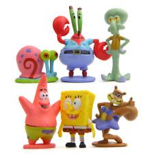 Spongebob Toys Cake Toppers Decoration Kids Birthday Present Party Bag