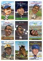 NEW Who Was Sports Figures Set of 9 Paperback Babe Ruth Super Bowl Muhammad Ali