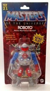 🔥2021 Masters of the Universe Origins ROBOTO Action Figure NEW Retro