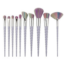 Unicorn Rainbow Makeup Brushes Set Eyeshadow Foundation Face Powder Brushes