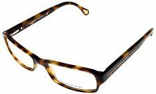 Ermenegildo Zegna Eyeglasses Frames Unisex Rectangular VZ3557 0T91 Light Brown