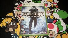 Call of Duty: World at War (Microsoft Xbox 360, 2008)