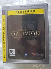PS3 SONY PLAYSTATION 3 THE ELDER SCROLLS IV : OBLIVION GOTY EDITION