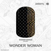 Jamberry~Wonder Women Nail Wraps~1/2 sheets~Stickers