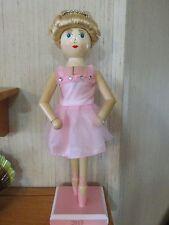 Ballerina Shabby Pink  Nutcracker Ballet Girl Victorian Princess Crown