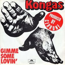 7inch KONGAS	gimme some lovin	HOLLAND1977 EX+ (S0056)