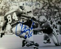 NEBRASKA FOOTBALL CHRISTIAN PETER #55 SIGNED AUTOGRAPHED PHOTO HUSKER BLACKSHIRT