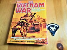 Vietnam War Illustrated History Of The Conflict In Southeast Asia + Emblem SALE
