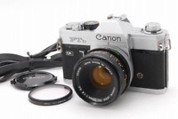 **EXC+++** Canon FTb 35mm SLR Camera w/ FD 50mm f/1.8 S.C.Lens From Japan #107
