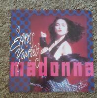 """madonna rare Express yourself German 7"""""""
