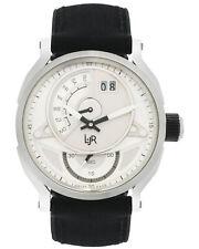 L&JR Retrograde Day & Big Date Quartz Men's Watch S1304A, MSRP: $1,180.00