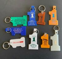 9 Vintage #1 Keychains Assorted - Lot 118
