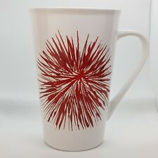 Starbucks Red Starburst USA Firework Tails 525ml Tall Ceramic Coffee Mug 2014