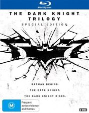 The Dark Knight Trilogy Special edition Blu-ray RB Batman Begins Rises New