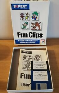 Fun Clips cd-rom from Expert Software