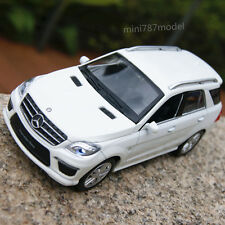 Mercedes-Benz ML63 AMG 1:32 SUV Model Cars Alloy Diecast Sound&Light  White gift