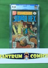 Jonah Hex #1 (1977)  CGC 9.0  -  a DC comics key 1st issue with white pages