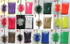 Pick 2 Colored Rubber Cat Whiskers Archery Bowstring Silencers Spider Legs