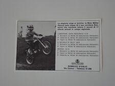 advertising Pubblicità 1971 MOTO MULLER 50 e BONZANINI