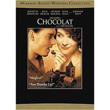 NEW DVD // CHOCOLAT  - JOHNNY DEPP,JULIETTE BINOCHE, LENA OLIN, JUDI DENCH