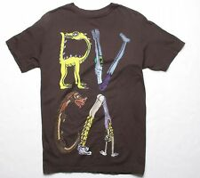 RVCA FURIE TEE (S) MIDNIGHT BROWN