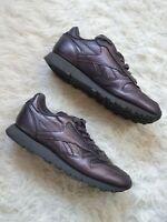 Reebok Classic FACE X Stockholm metallic purple trainers - womens size 4