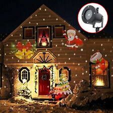 UK Moving LED Laser Projector Lamp Landscape Star Light Xmas Outdoor