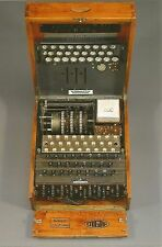 German WW II Photo   * *    Enigma Machine  * *       # 1685