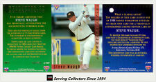 1994/95 Futera Cricket Trading Cards Signature SAMPLE SET-STEVE WAUGH