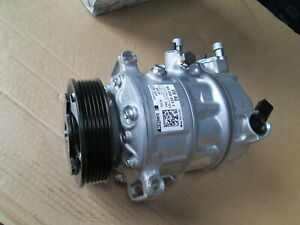 NEW GENUINE VW TRANSPORTER T6 CRAFTER AIR CONDITIONING COMPRESSOR 7E0820803T