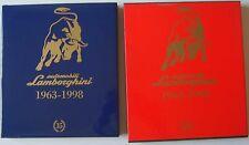 Automobili Lamborghini 1963-1998 LUSSO Libro in custodia multilingue PASINI