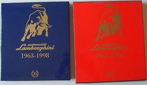 Automobili Lamborghini 1963-1998 Luxury book in slip case Multilanguage Pasini
