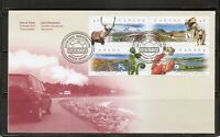 Canada SC # 1742a Scenic Highway FDC. Ashton Poter Cover