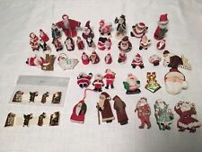 Lot Of Christmas Santas Dollhouse Miniatures