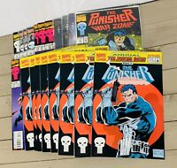 Lot Of 20 Punisher Comic Books Comics Duplicates See Photos