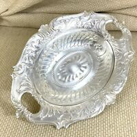 Antique Christofle Silver Plated Bowl Bread Basket French Louis XIV Rococo