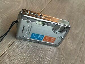 Olympus Stylus 720 SW 7.1MP Ultra Slim HD Digital Camera Waterproof EXCELENT