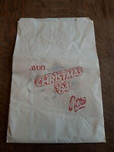 Avon Christmas 84 Now Paper Bag - AVON 1984 - retro, vintage